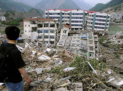 earthquake in china 2009. China Earthquake Destroys