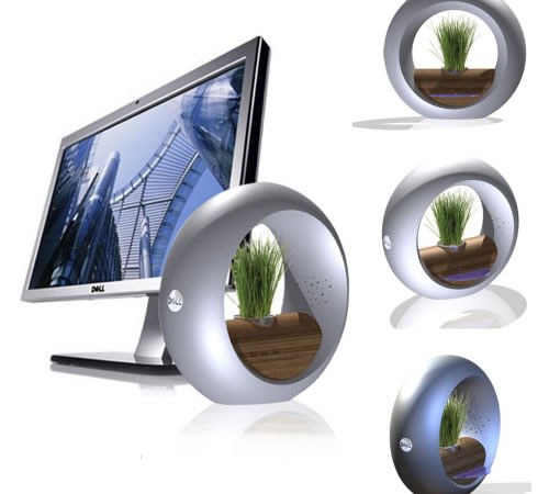 Luis Luna Green Computing 1 New Concept Makes PCs More Aesthetically Appealing, Literally Greener