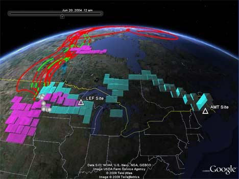 google earth carbon Google Earths Application Maps Carbons Course on Earth