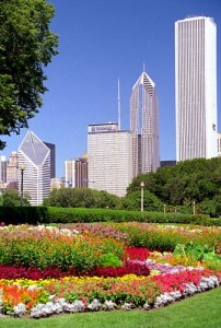 Chicago Grant Park 202x300 Chicago 2016 Olympic bid is blue green