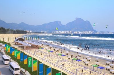 Lumo Rio2016 Olympic BeachVenue 40 11 Rio 2016 Olympic bid includes planting trees