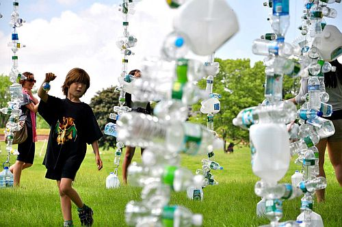 Watershed Eco Art Installation 1 Eco Art Installations Help Visitors Visualize U.S. Consumption