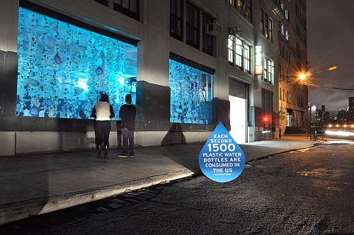 Watershed Eco-Art Installation Helps Visualize US Consumption