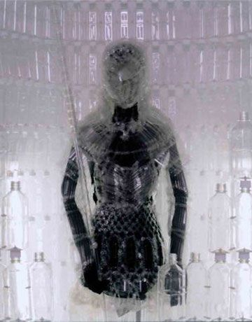 Plastic Bottle Armor Suit