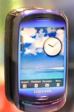 Samsung Blue Earth Going Green with your Mobile