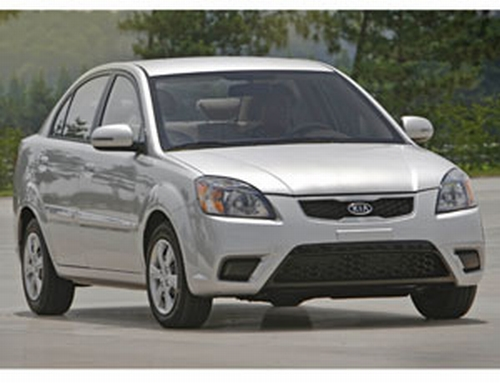 2010 kia rio md The Five Most Fuel Efficient and Affordable Cars of 2010