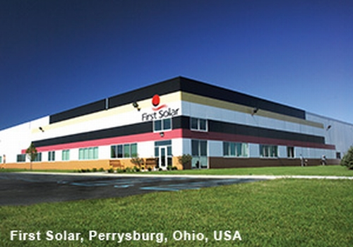 Bldng Perrysburg FS00002 WB M First Solar Produces 1 Gigawatts of Power in 2009
