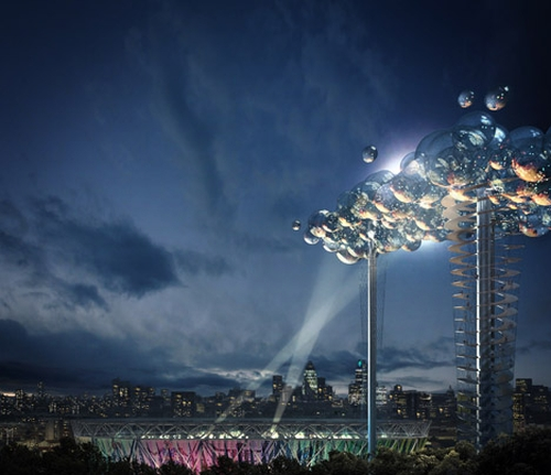 cloudnight Cloud Tower to be Erected in London for 2012 Olympics