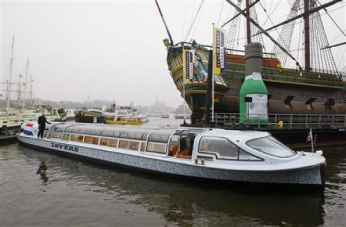 default Fuel Cell Boats First Cruise Through Amsterdams Canals