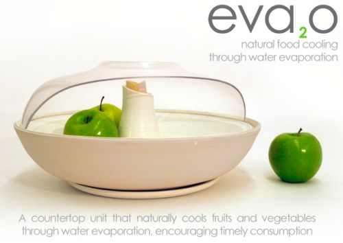 eva2o eva2o Concept Aims to Keep Fruits Fresh Longer, Without Being Energy Hungry