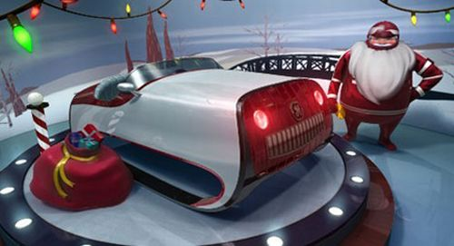 ge santa sleigh GE Wants a Greener Santa, Designs a New Sleigh