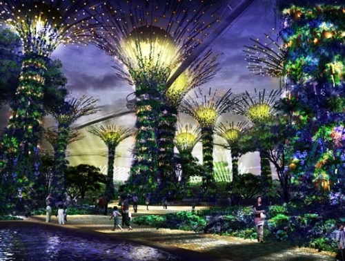 singapore gardenproject 21 Singapores Bay South Garden to be the Largest in the Country