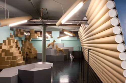 smithfield recycled shop2 Smithfield Creates Completely Recycled Interiors for new Shop