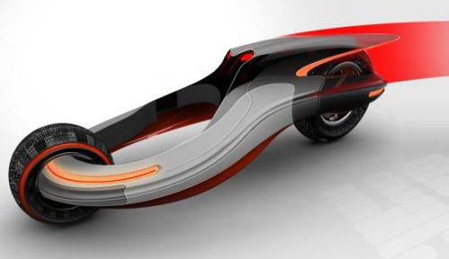 halo concept1 Halo Concept Vehicle Uses Magnetism for Speed, Efficiency