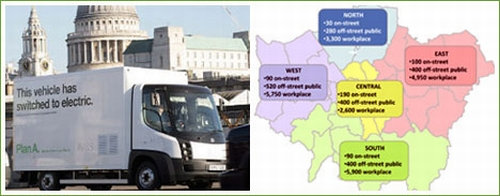 london ev Every London Citizen to Have Access to a Recharging Station Within a Mile in Five Years