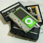 nano case made from audi cassettes 150x150 Cut and Paste: Exhibition of Repurposed Junk at Royal Ontario Museum