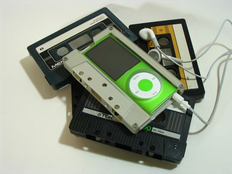 nano case made from audi cassettes Cut and Paste: Exhibition of Repurposed Junk at Royal Ontario Museum