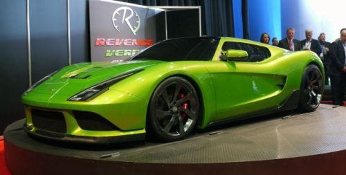 revenge verde supercar Revenge Adds an Utopian Green Twist to the Verde Supercar