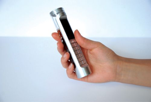 sugar powered mobile 1 Mobile Phone Concept Runs on Sugary Drinks