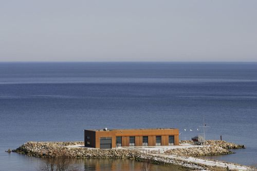 vacation home from factory2 Abandoned Soviet era Fish Factory Transformed Into Vacation Home