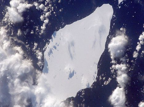 an iceberg in the southern atlantic Mammoth Iceberg Poses Threat to Ocean Current Circulation