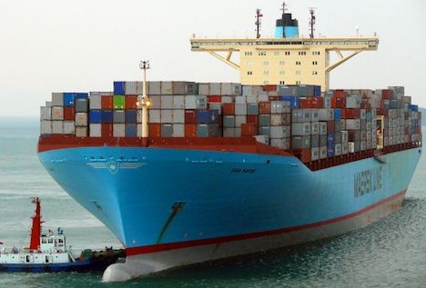 maersk slows down to better cost Cargo Fleet Massively Cuts Emissions by Slowing Down a Bit
