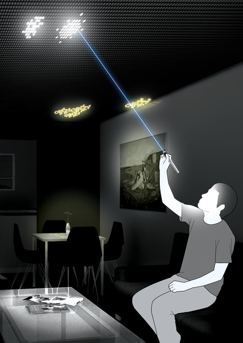 500x draw light New Concept Paints Your Ceiling in Light