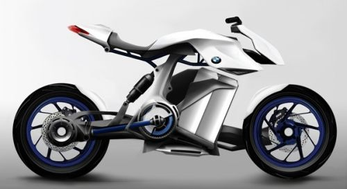 bmw motorcycle concept Design Students put Forward a Fuel Cell Powered BMW Bike Concept