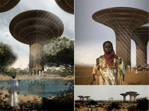 water tower for darfur High rise Water Tower Could Work Wonders for Darfur