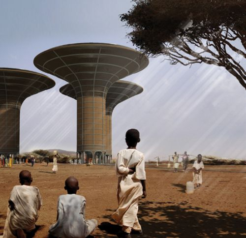 water tower for darfur2 High rise Water Tower Could Work Wonders for Darfur