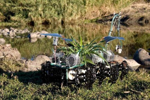 nomadic plant 1 Robot Nomadic Plant Feeds Off Polluted Water
