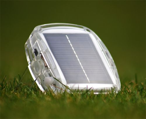 solar pebble Solar Charger Provides Light, Charges Gadgets