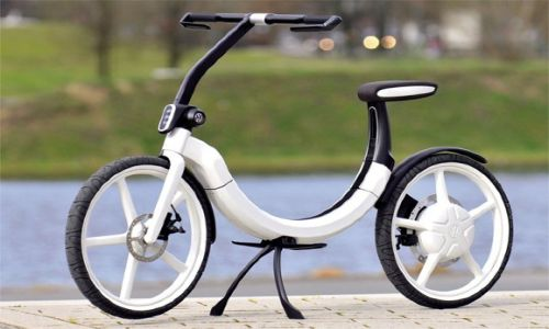 ebike11 Volkswagen's folding electric bike enhances mobility
