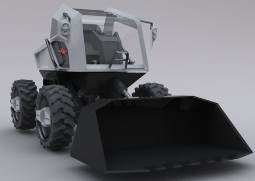 electricdozer 'Electric Bulldozer' with zero emissions and smart safety alerts