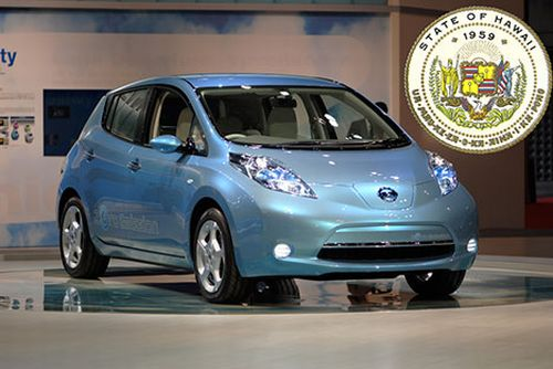 hawaii Nissan picks Hawaii for early launch of LEAF Electric Car