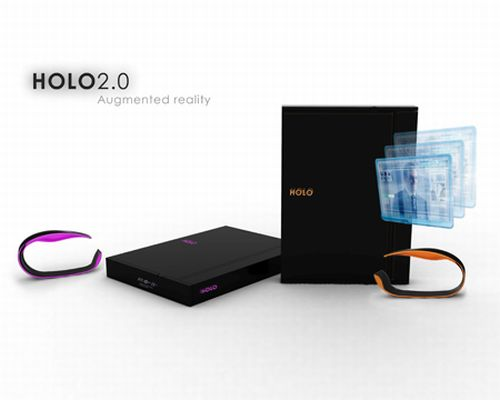 holooo11 HOLO 2.0 future wearable computer uses kinetic energy to get charged