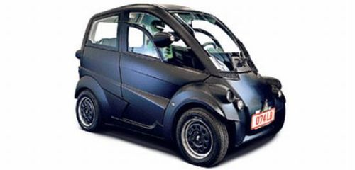 """microcar Built from recycled plastic bottles """"T25 Supermini Car"""" turns your head around"""