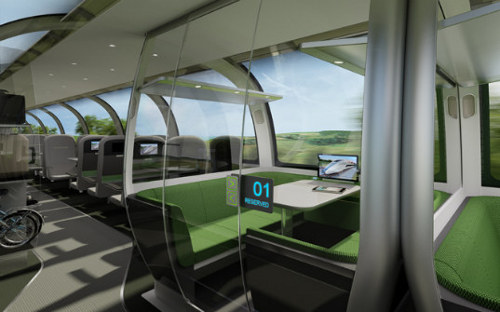 Mercury High Speed Train1 The Mercury To Offer Ultra Efficient Clean Travel Soon