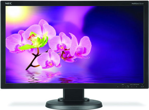 NEC E231W NEC's MultiSync E231W LED Backlit Display Cares For The Planet