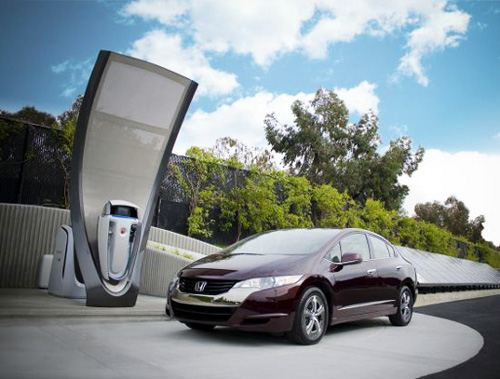 honda refueling station Italian Gas Stations to Have Hydrogen Fuel Pumps