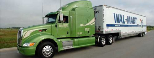 WalMart Hybrid Truck Wal Mart Plans More Energy Efficient Stores