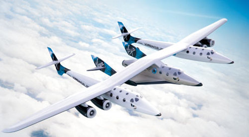 Virgin Galactics SpaceShip Space Tourism May Have Immediate Impact on Climate