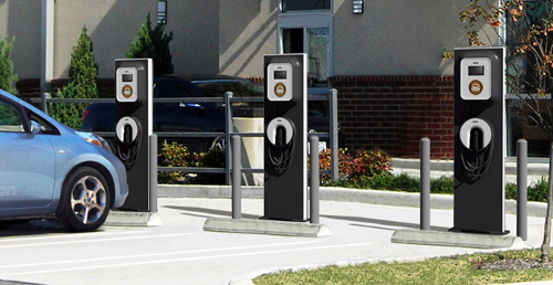 chargingstation Ecotality BestBuy Deal for Electric Vehicle Charging Stations