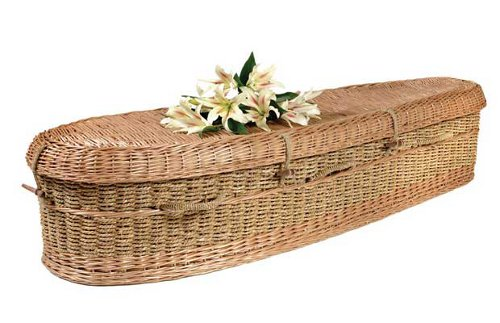 greencasket Green Burial Options Include Recycled Newspaper Coffins & Sea Salt Urns