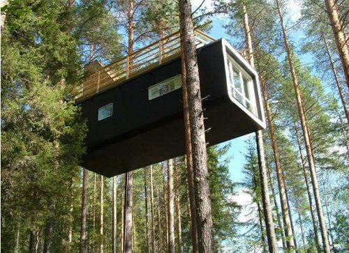 treehotel Heading for Sweden? Check in to the TreeHotel!