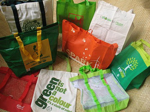ecowaste Reusable Eco friendly Bags in Philippine Malls