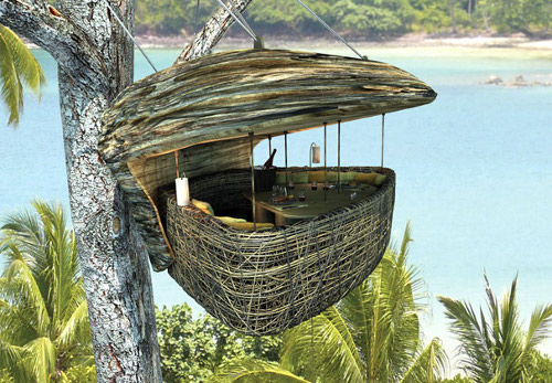 soneva kiri resort Perch Atop a Tree for a Picnic