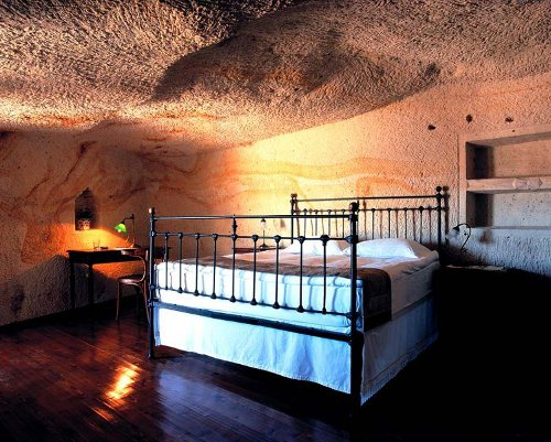 cave2 Cave Hotel in Turkey Promises Luxury in Ancient Settings