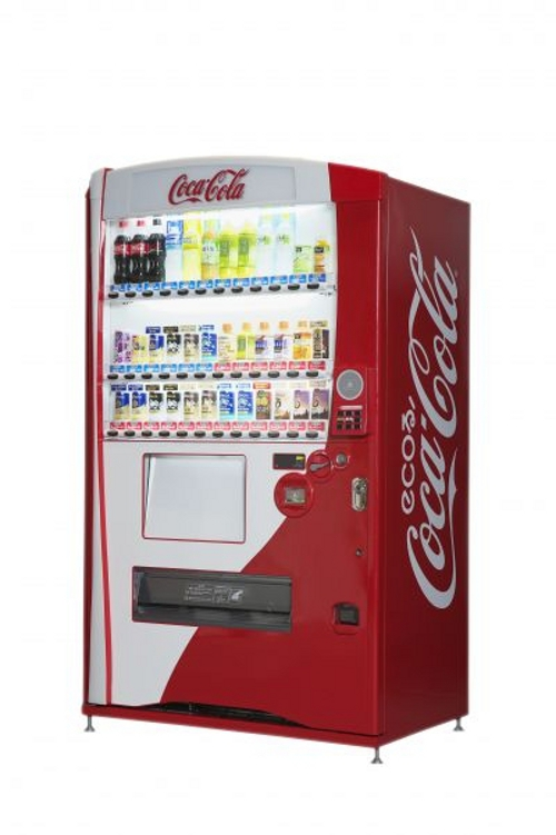 coke Coca Cola Intros Eco friendly 3D Vending Machines
