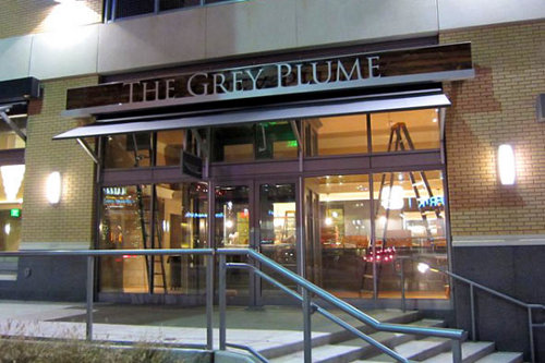 the grey plume restaurant The Grey Plume is the Greenest Restaurant in America